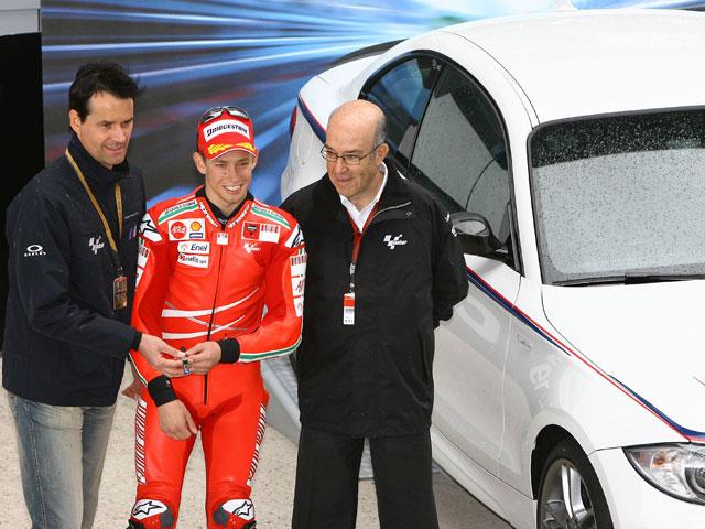 """Stoner (Ducati) vence en el """"Gran Premio 0"""" de Jerez"""