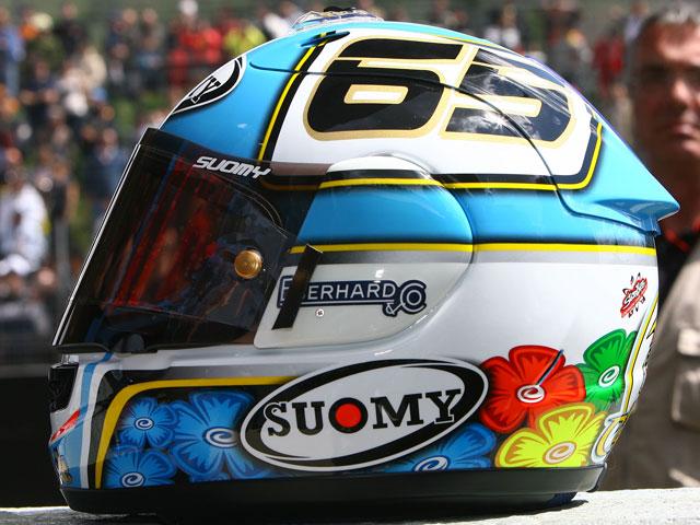 Los cascos del Mundial de MotoGP 2009