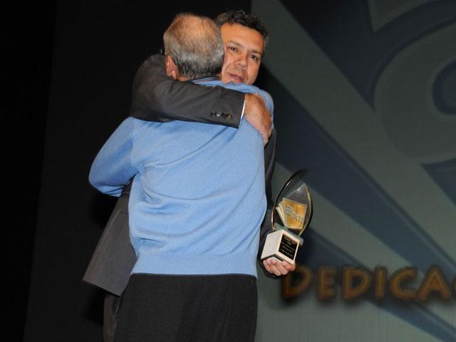 Néstor Jorge, premio dedicación deportiva
