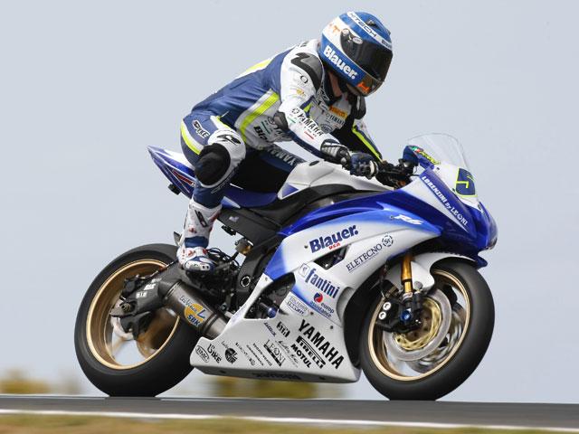 "Imagen de Galeria de Crutchlow (Yamaha) arrebata la pole a Lascorz (Kawasaki) ""in extremis"""