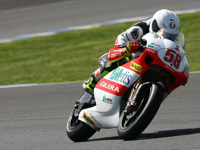 Simoncelli intentará correr en Qatar