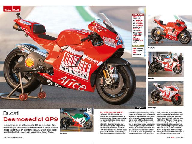 Guía Motociclismo MotoGP 2009, ya en tu kiosco