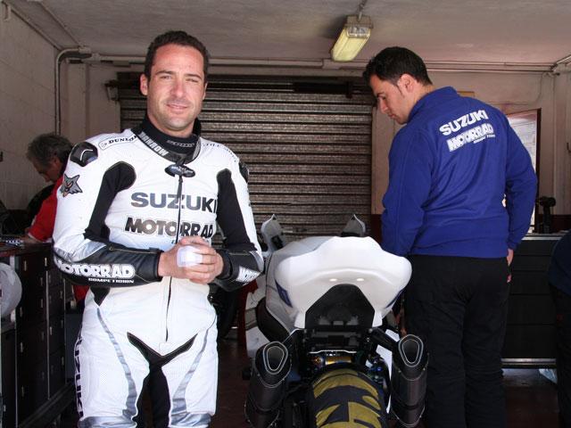 Los pilotos del CEV entrenan en Albacete