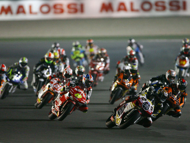 Imagen de Galeria de MotoGP. Luces, cámaras, acción