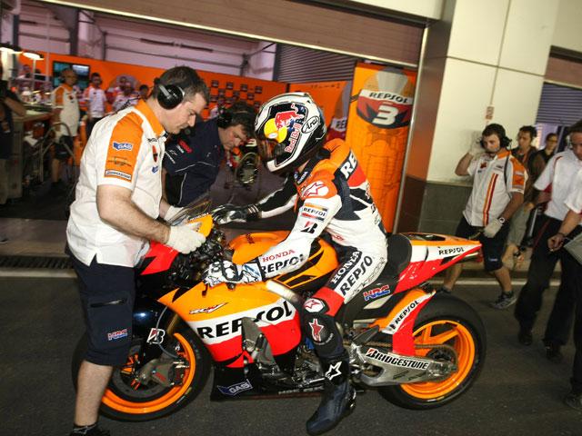 """V. Rossi (Yamaha): """"Es muy extraño tener sólo 45 minutos"""""""