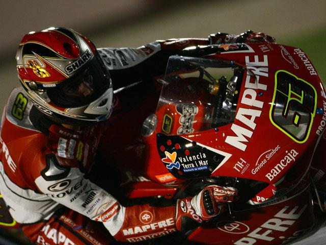 Victoria de Héctor Barberá con Aprilia en el Gran Premio de Qatar