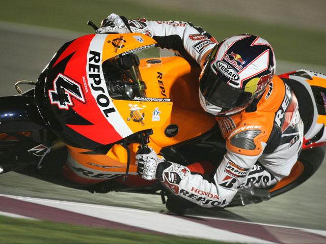 Imagen de Galeria de Casey Stoner (Ducati), el número uno en Qatar