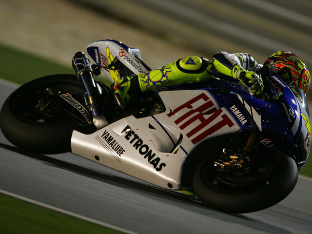 Casey Stoner (Ducati), el número uno en Qatar