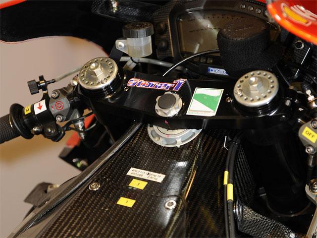 Desmosedici GP9, el primer chasis en fibra de carbono