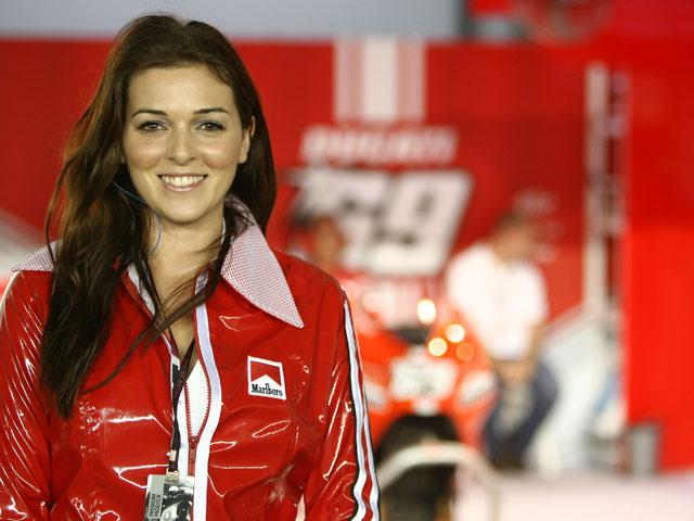 Las chicas del Gran Premio de Qatar