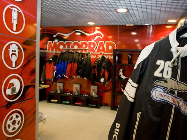 Motorrad Zone, boutique de carretera