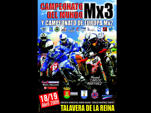 El Mundial de MX3 y el Europeo de MX2 llegan a Talavera
