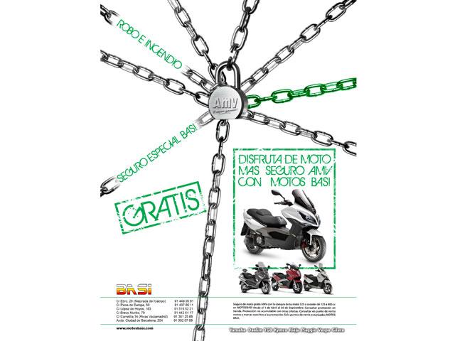 Imagen de Galeria de El seguro de tu moto gratis con Basi