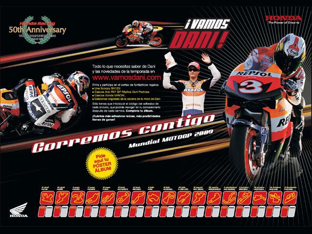 Imagen de Galeria de ¡Vamos Dani!, nueva campaña Honda