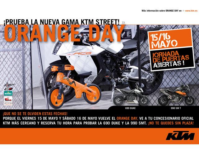 Vuelve el Orange Day de KTM
