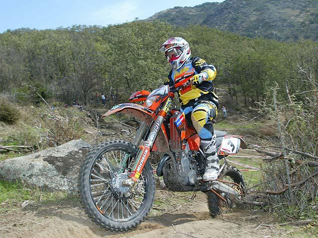 Guerrero en la cima