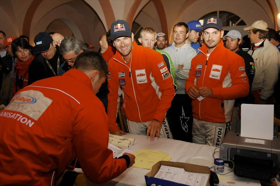 Victoria de Marc Coma en la segunda etapa del Rally de Túnez