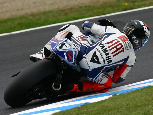 Imagen de Galeria de Rossi (Yamaha) golpea primero en el Gran Premio de Japón
