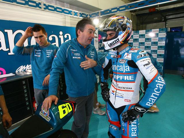 """M. Simoncelli (Gilera): """"Estoy preocupado por la carrera, pero soy rápido"""""""