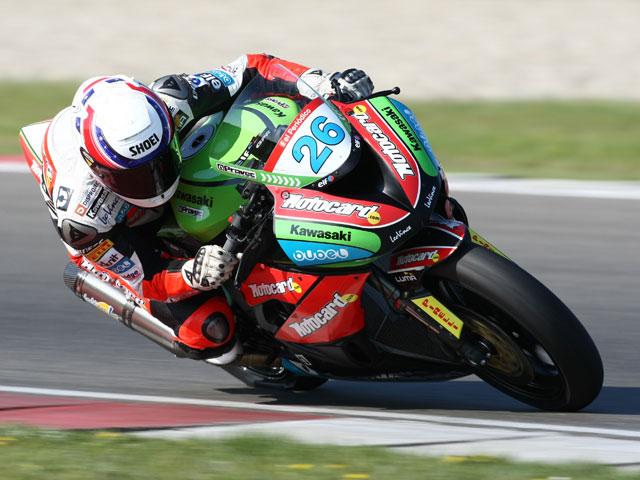 Imagen de Galeria de Joan Lascorz con Kawasaki se sube al podio de Supersport