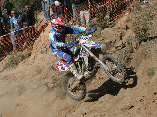 Nueva victoria para Iván Cervantes (KTM)