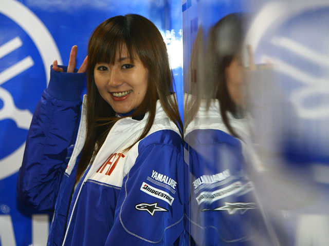 Las chicas del Gran Premio de Japón