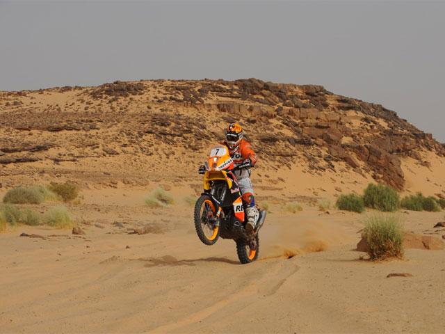 Marc Coma (KTM) pierde el liderazgo del Rally de Túnez