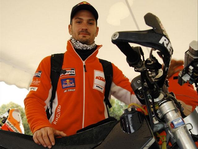 Marc Coma recupera puestos en el Rally de Túnez