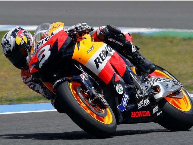 Dani Pedrosa apoya las labores de seguridad de Honda en motos