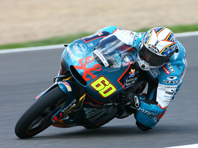 Imagen de Galeria de Dani Pedrosa (Honda), al frente en los libres de Jerez