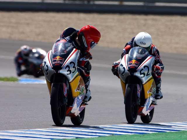 Imagen de Galeria de Red Bull MotoGP Rookies Cup: Fagerhaug y Kent se reparten las victorias