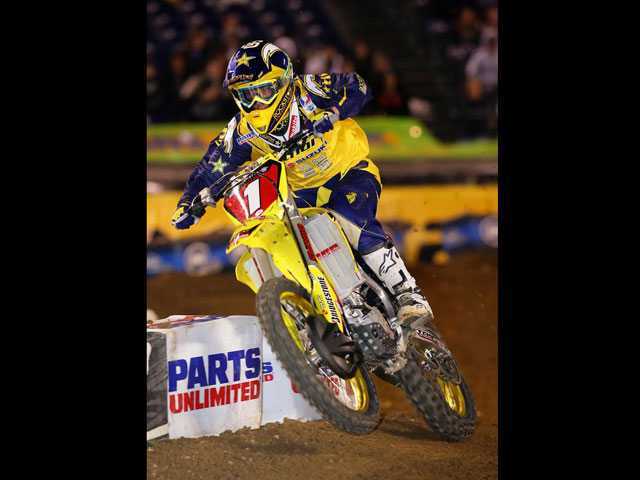 James Stewart (Yamaha), campeón del mundo de Supercross
