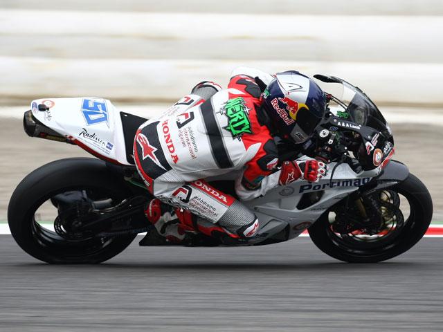 Lascorz (Kawasaki) segundo en Monza