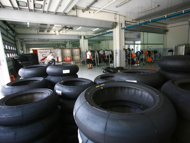 Bridgestone prepara sus compuestos para el GP de Francia