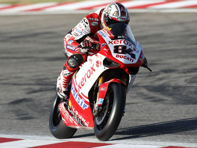 Imagen de Galeria de Michel Fabrizio (Ducati) golpea primero en Kyalami