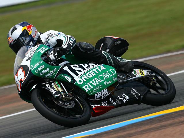 Simón (Aprilia) arrasa en el GP de Le Mans