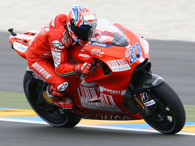 Imagen de Galeria de Lorenzo (Yamaha) vence en Le Mans. Pedrosa, tercero