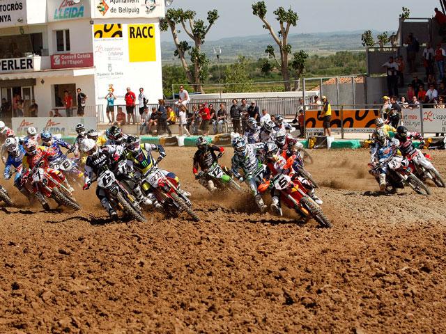 Barragán (KTM) triunfa en el Motocross de Bellpuig
