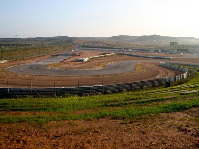 CeSmotard y Superquad en el circuito de  Motorland Aragón