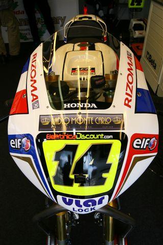 Imagen de Galeria de La moto de Dani Pedrosa: Honda RC212V