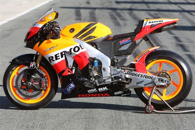 La moto de Dani Pedrosa: Honda RC212V