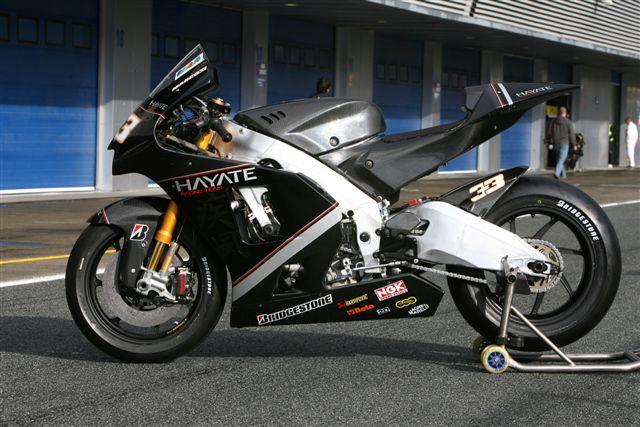 Imagen de Galeria de La moto de Melandri: Kawasaki ZX-RR