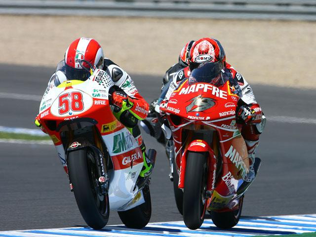 GP de Mugello, España vs Italia