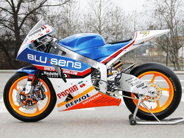 Roberto Rolfo rueda con la BQR Honda de Moto2