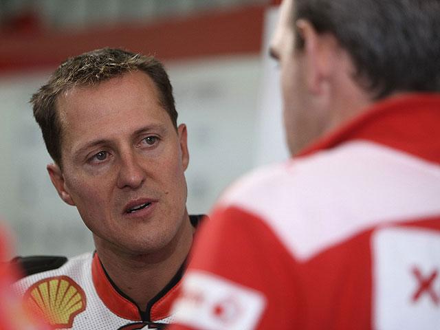 """Schumacher: """"Sobre dos ruedas soy como un niño pequeño"""""""