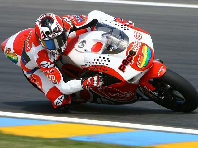 Bautista, mejor tiempo en los libres del Gran Premio de Italia de Motociclismo
