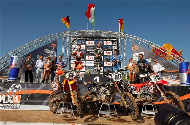 Philippaerts vuelve a ganar en el Mundial de Motocross