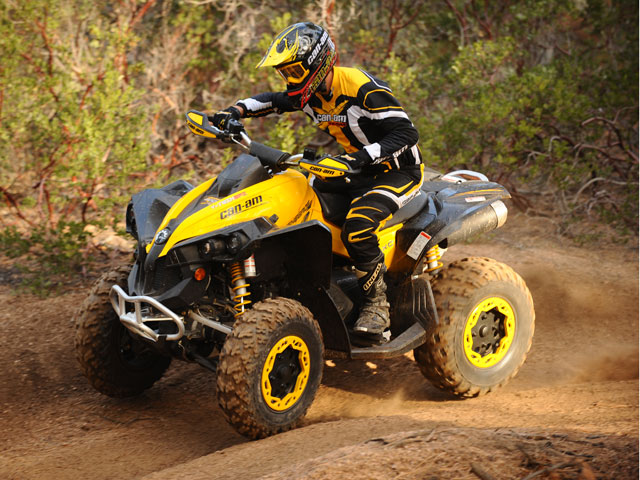 Imagen de Galeria de Presentación Gama Can-am ATV 2010