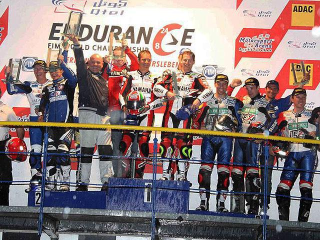 Yamaha Austria repite victoria en Oschersleben
