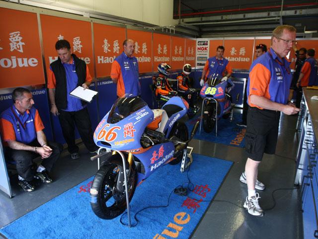 MotoGP. Haojue despide a Wittenveen